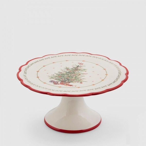 Christmas Platter with Base
