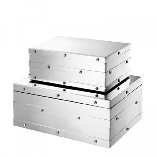 CHARLOTTE BOX - NICKEL - SMALL