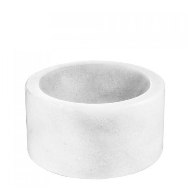 Marble Bowl - Conex - White