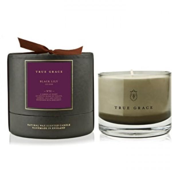 True Grace - Black Lily, candle 225gr