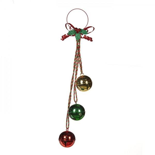 3 Bells Cluster Ornament
