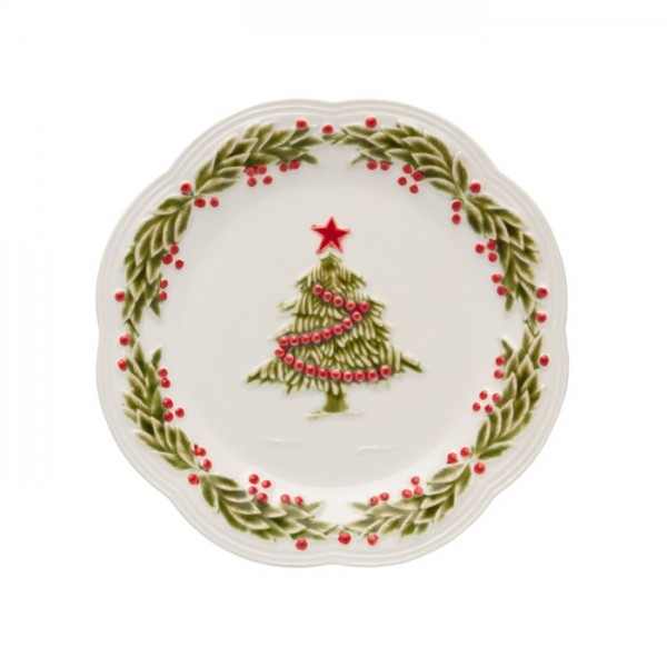 Christmas Dessert Plate 21cm