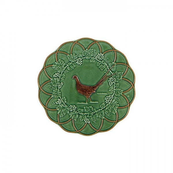 Pheasant Snack Plate 24cm