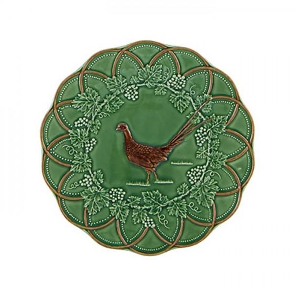 Pheasant Snack Plate 24cm