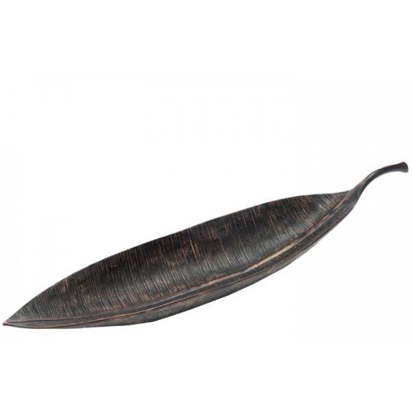 Bowl Leaf Dark Brown