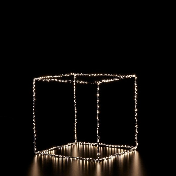 Decorative Led Open Box/50x50cm