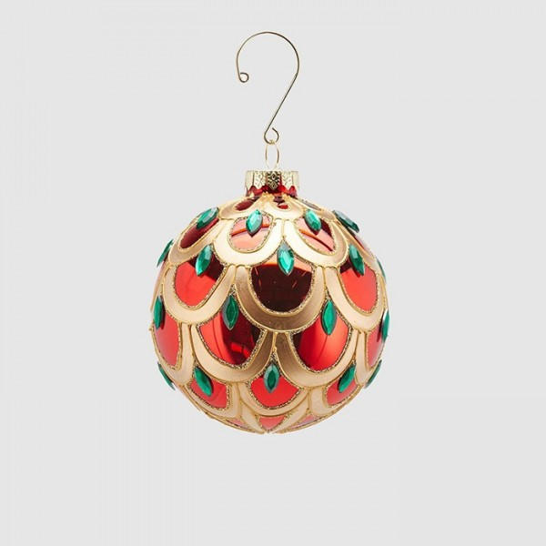 Colourful Ball Ornament/12cm