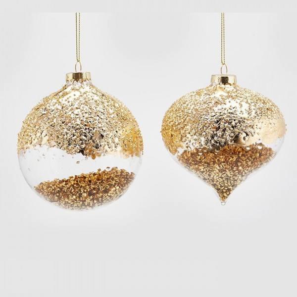 Sparkling Gold Ornament