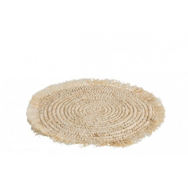 PLACEMAT SISAL NATURAL (44X44X1)