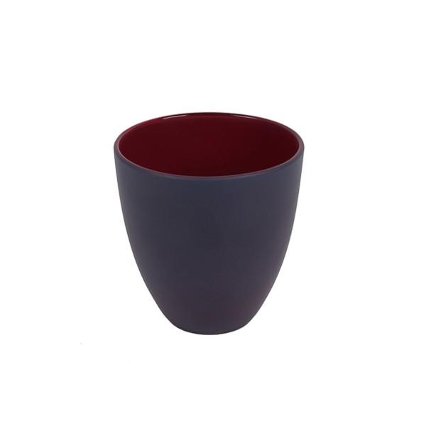GLASS - GREY/RED - MEDIUM
