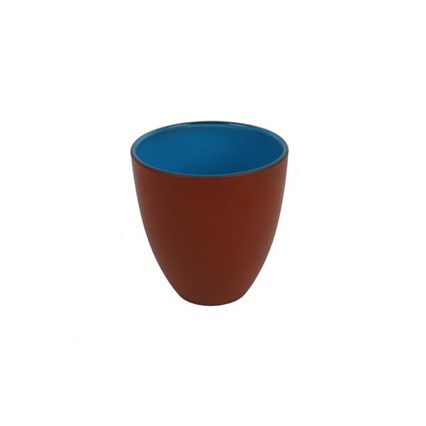 GLASS - BLUE/ORANGE - SMALL