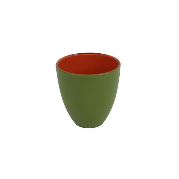 GLASS - GREEN/ORANGE - SMALL