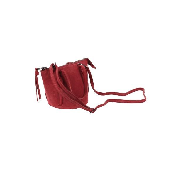 Almira  - Nat Suede Red - 23x15cm