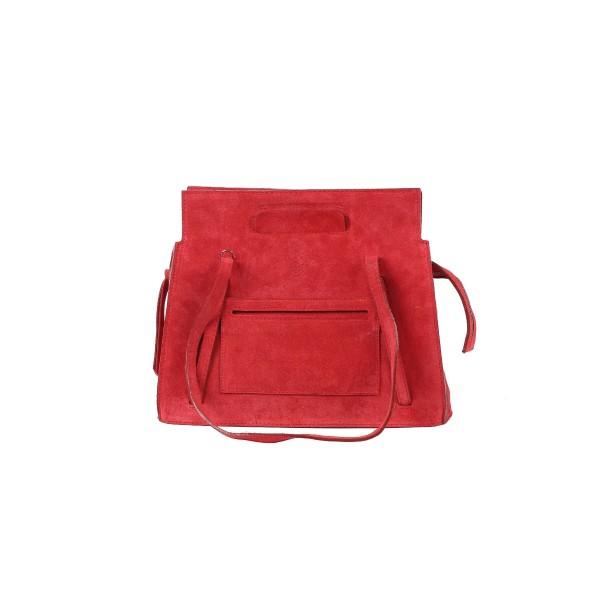 Almira City Bag Small Suede