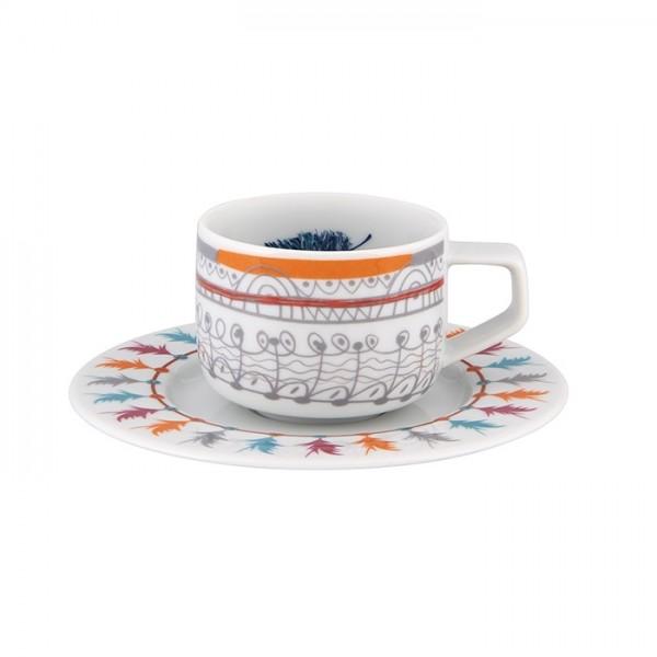 Atrapasueños Coffee Cup & Saucer