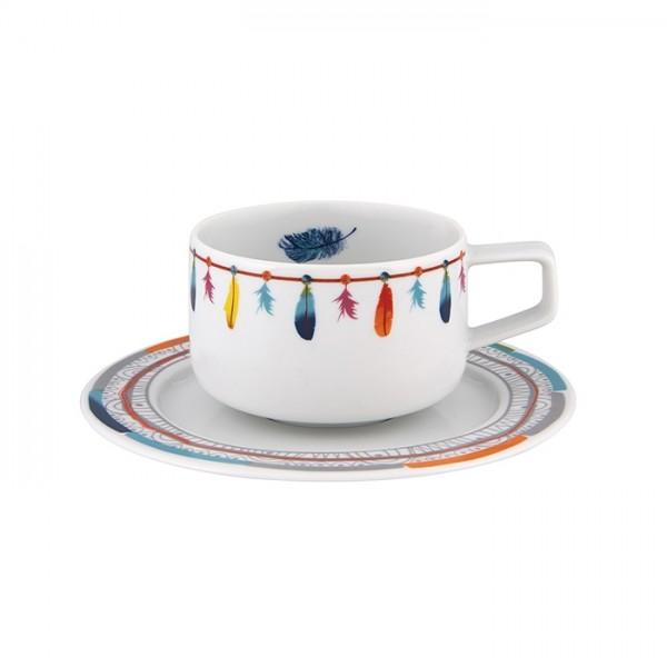 Atrapasueños Tea Cup & Saucer