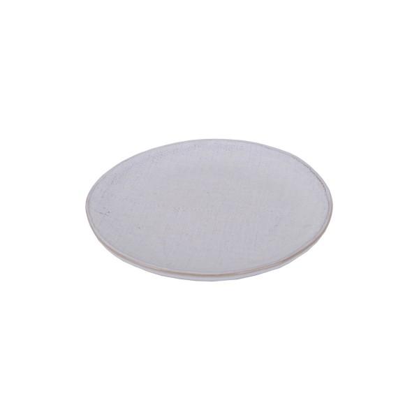 Greystone linen dessert plate