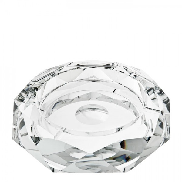 BRUCE - CRYSTAL ASHTRAY - LARGE