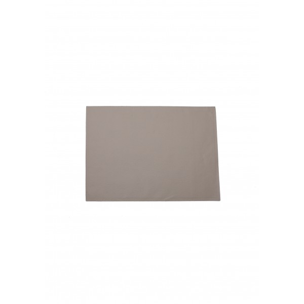 Rectangle leather Placemat - Beige