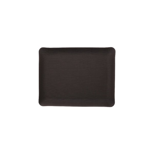 Rectangle Textile tray - Brown - Large