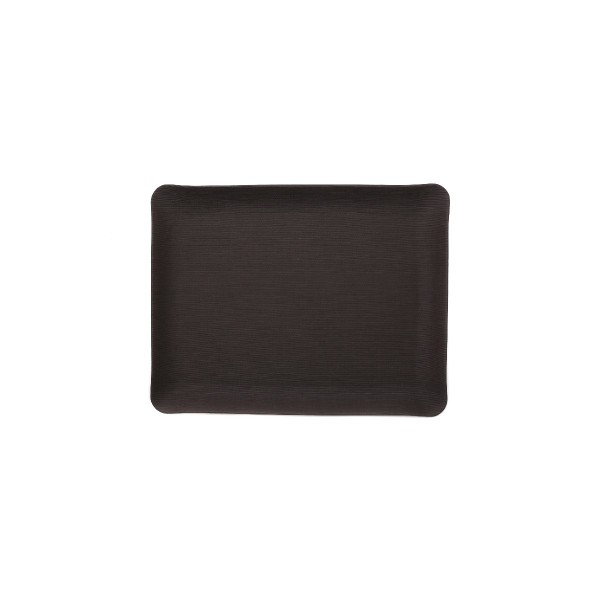 Rectangle Leather Tray - Brown - Large