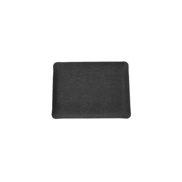 Rectangle textile tray - Anthracite - Small