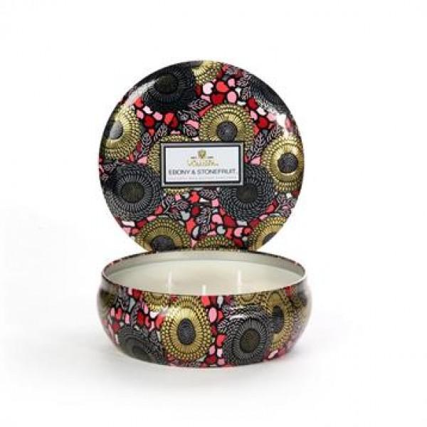 Voluspa - Candle Ebony & Stonefruit, candle 12oz.