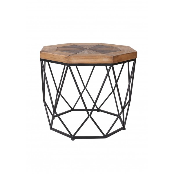 Wooden Side Table - Large
