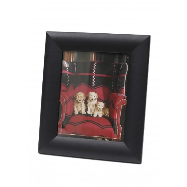 LEO - Leather frames - Black