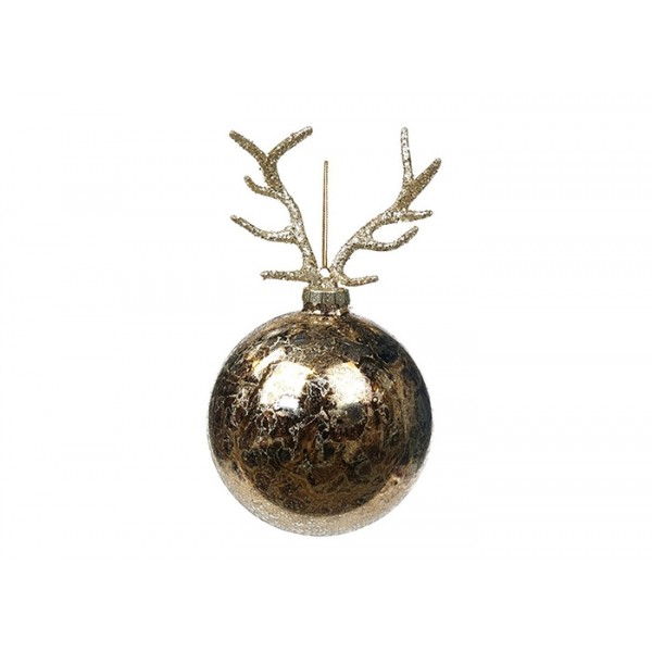 Antler Ball Ornament
