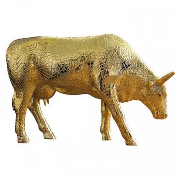 Cowparade -Large Mima Moo (gold)