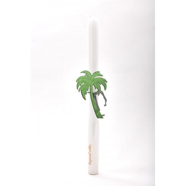 Πασχαλινή Λαμπάδα Πράσινος Φοίνικας