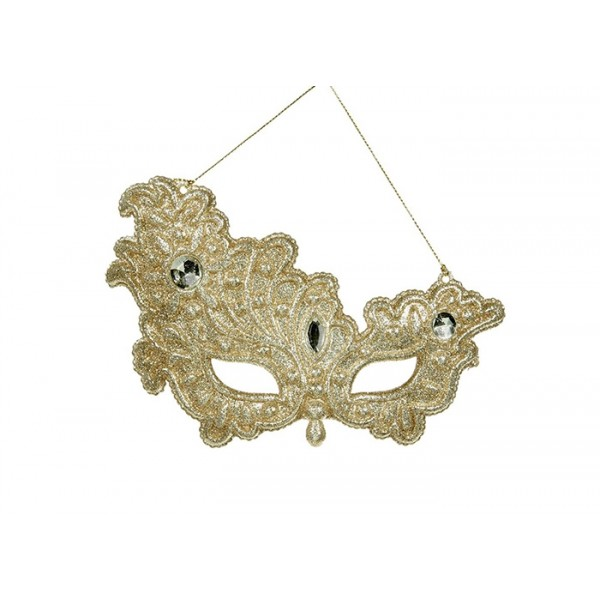 Gold Mask Ornament