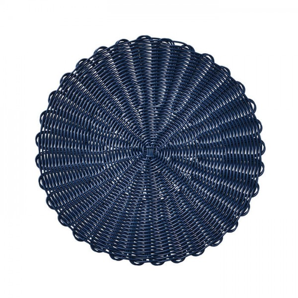 Kim Seybert Bistro Placemat In Navy