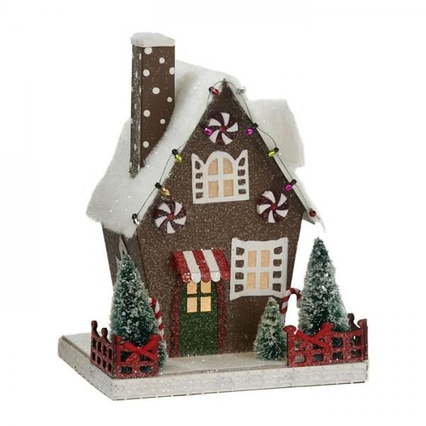 Led Gingerbread House