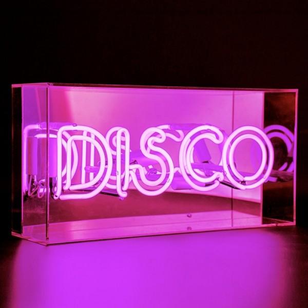 Locomocean Acrylic Box Neon Disco Pink