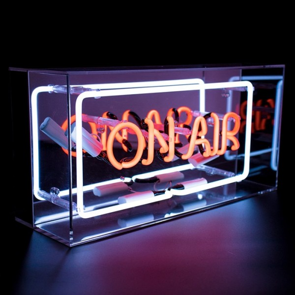 Locomocean Acrylic Box Neon On Air