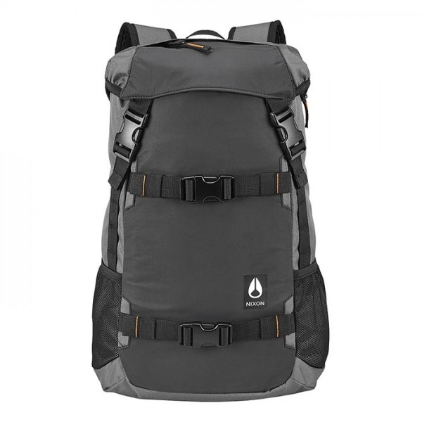 Nixon Small Landlock Backpack Gunmetal
