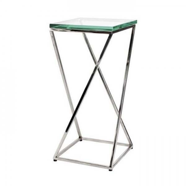 Side Table Clarion Nickel