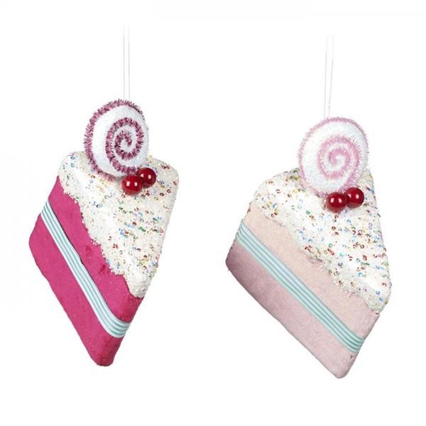 Slice of Cake Ornament