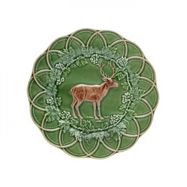 Deer Snack Plate 24cm