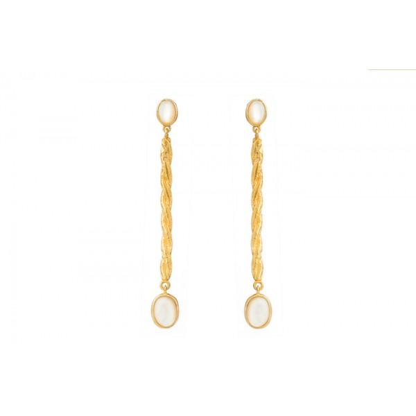 Tori σκουλαρίκια Χρυσά / Πέρλα
