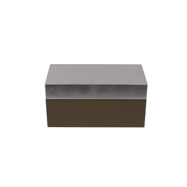 Lacquer Box - Grey/Silver