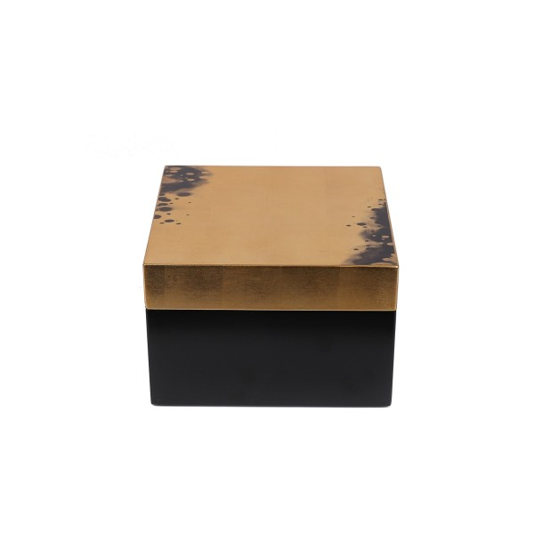 Square Box - Black/Gold - Large