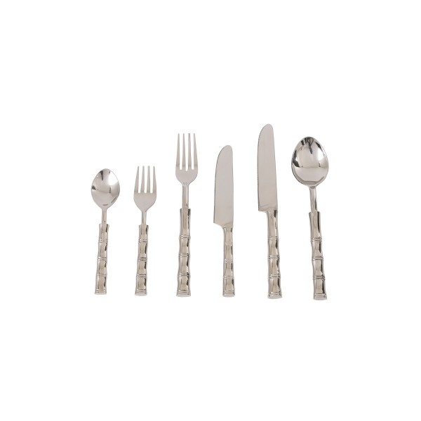 Bamboo Steel Flatware