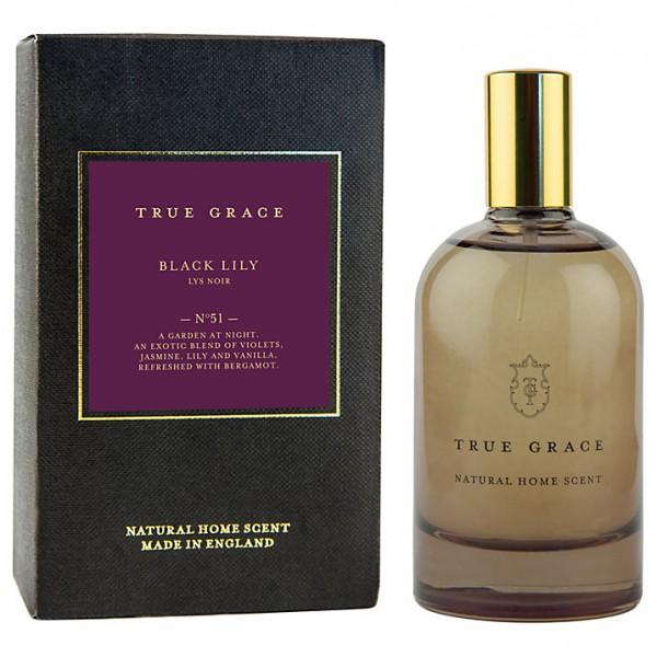 True Grace - Black Lily, Room Spray  100ml