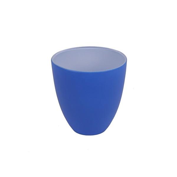 GLASS - BLUE/WHITE - MEDIUM