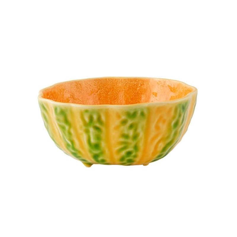 Bordallo Pinheiro Bowl 16 Pumpkin