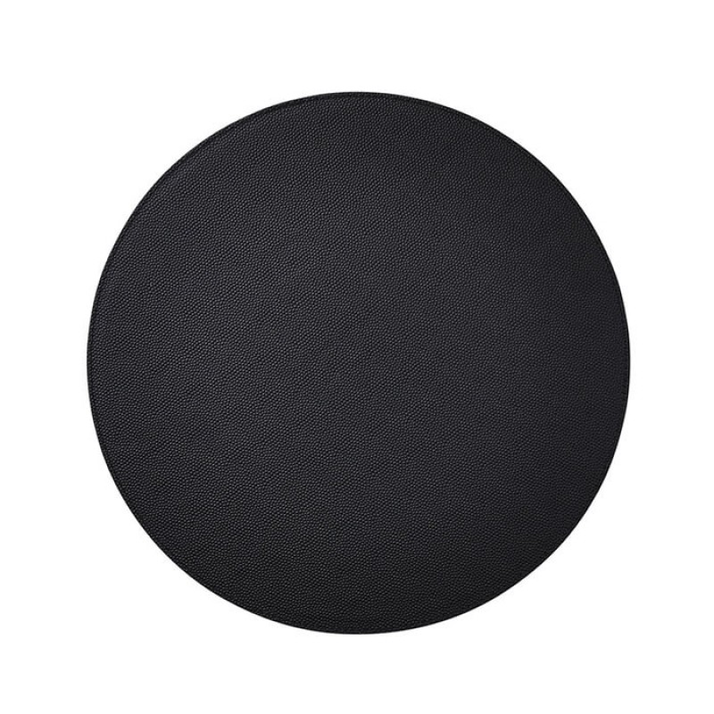 Kim Seybert Shagreen Placemat In Black
