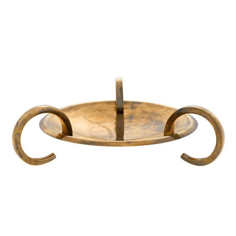 Platter Belvair Brass